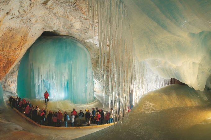 Eisriesenwelt Werfen - Tagesausflüge im Salzburger Land