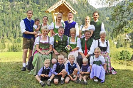 Familie Mayrhofer - Familienhotels im Salzburger Land