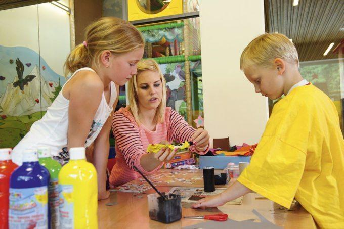 Kinderbetreuung im Hotel Alpenhof - Familienhotel in Zauchensee, Salzburger Land