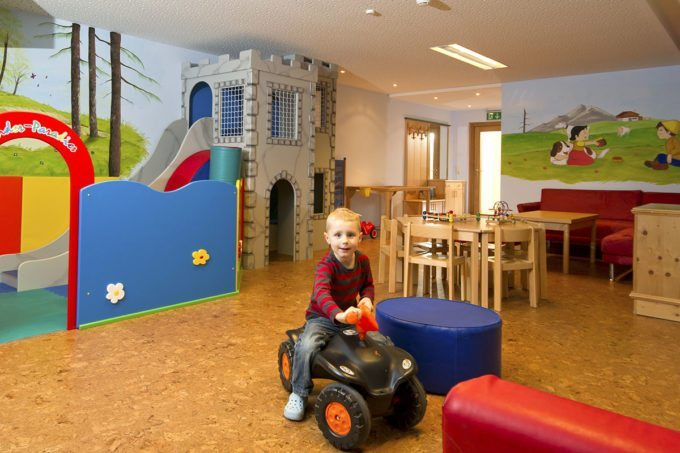 Kinderspielraum im Hotel Salzburger Hof - Familienhotel in Zauchensee, Salzburger Land