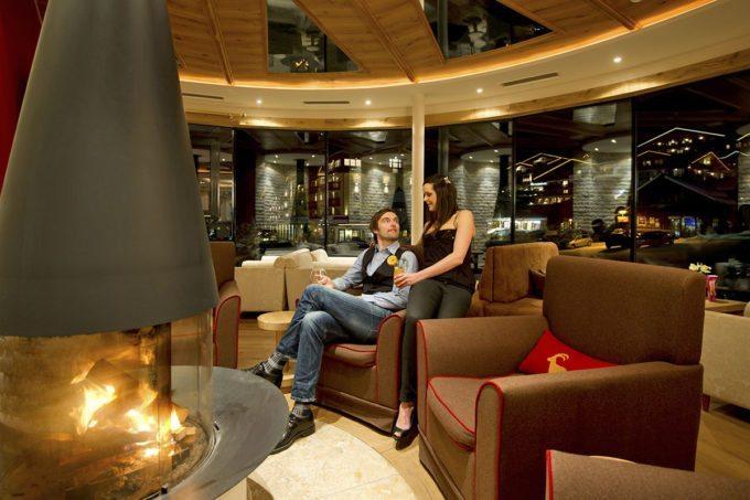 Lounge im Hotel Salzburger Hof - Familienhotel in Zauchensee, Salzburger Land