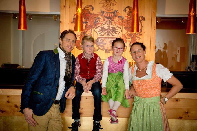 Familie Mayrhofer im Hotel Salzburger Hof - Familienhotel in Zauchensee, Salzburger Land