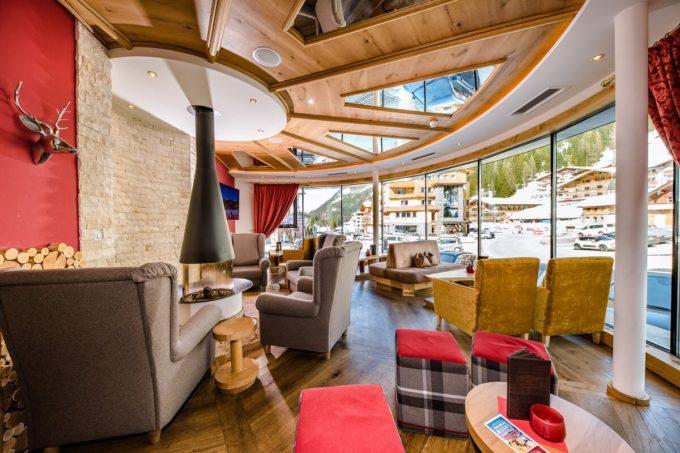 Lounge Familienurlaub - 4 Sterne Superior Hotel Salzburger Hof in Zauchensee