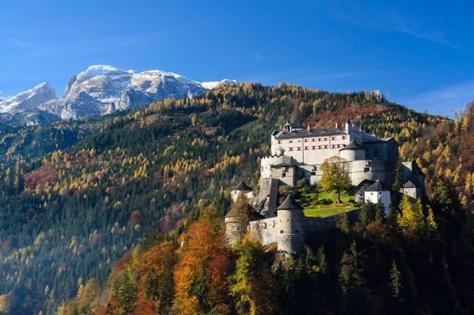 Festung Hohenwerfen - Tagesausflüge im Salzburger Land