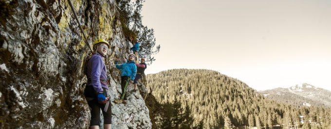 Klettern - Sommerurlaub in Altenmarkt-Zauchensee
