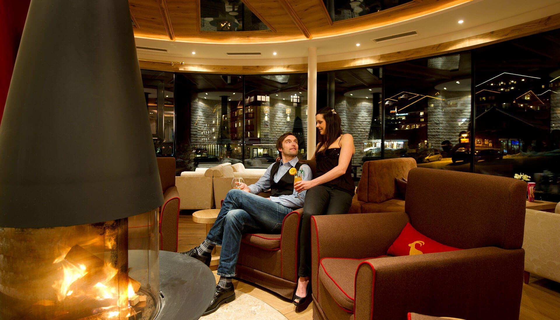 Lobby im Hotel Salzburger Hof - Familienhotel in Österreich