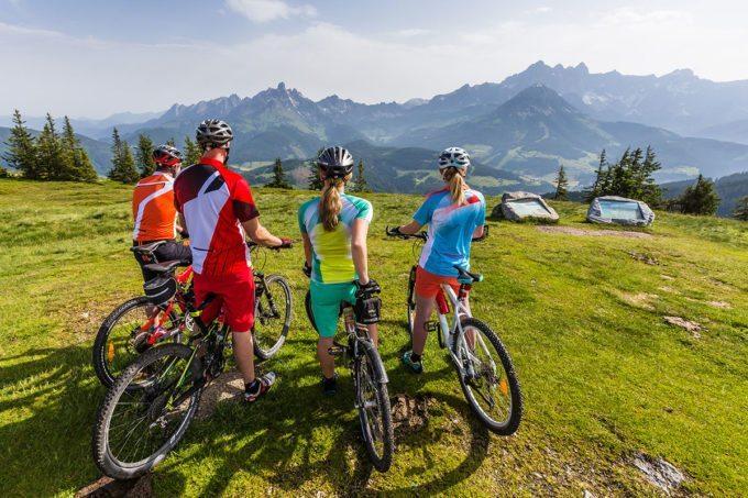 Mountainbiken in der Salzburger Sportwelt