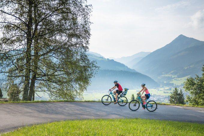 E-Biken - Sommerurlaub in Altenmarkt-Zauchensee