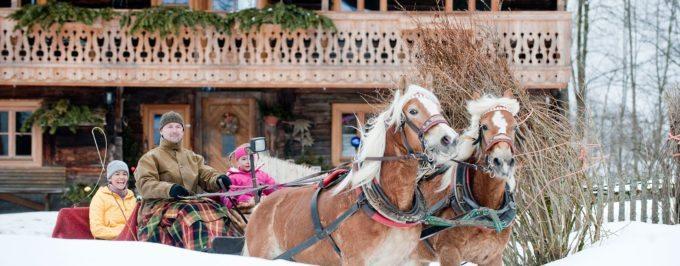 Pferdekutschenfahrten - Winterurlaub in Altenmarkt-Zauchensee, Salzburg
