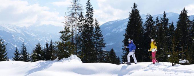 Schneeschuhwandern im Winterurlaub in Radstadt