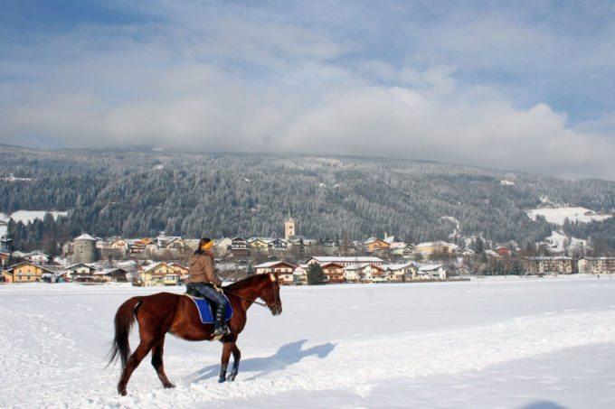 Winterreiten - Winterurlaub in Radstadt, Salzburg
