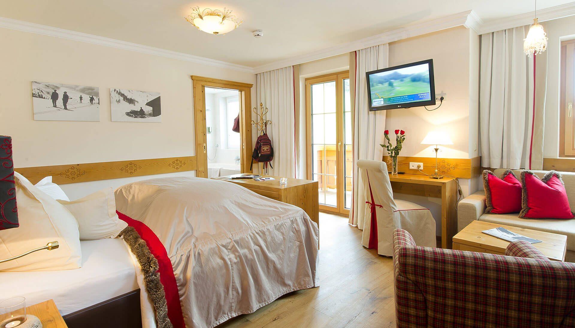 Zimmer im Hotel Salzburger Hof - Familienhotel in Österreich